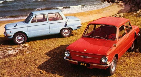 автомобили Запорожец