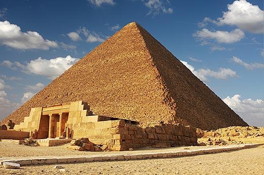 Sejarah dan Rahasia Teknik Pembangunan Piramida Mesir