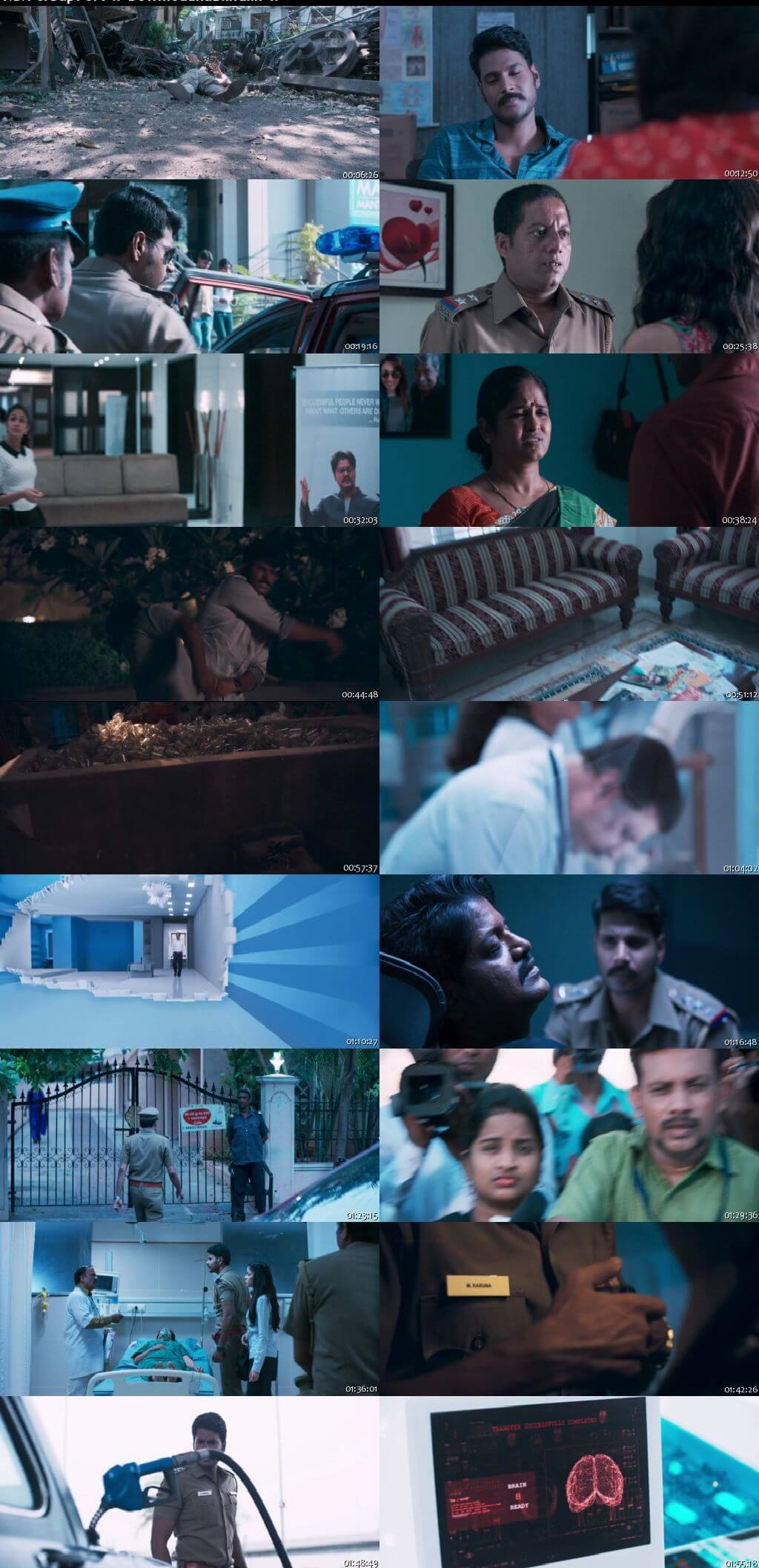 Screen Shot Of Maayavan 2017 300MB Full Movie Hindi Dubbed Free Download 480P BRRip Small Size PC Movie