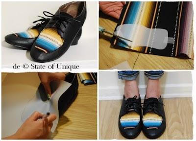 Como Tunear  Zapatos Paso a Paso