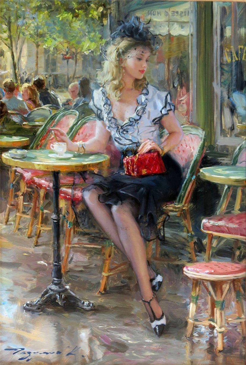 Konstantin Razumov ~ Pintor impressionista