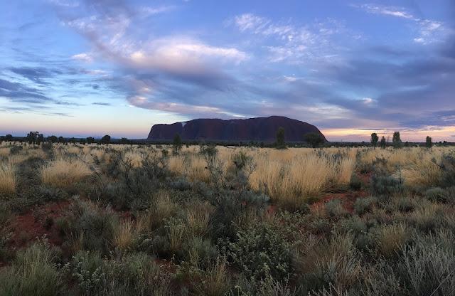 Uluru Ayres Rock Australia Sunrise