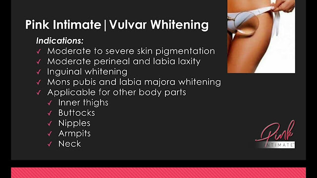 Whitening of Intimate Area