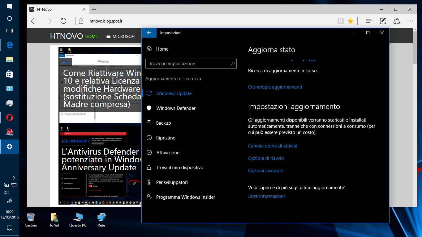 Microsoft rilascia la prima Build di Windows 10 Redstone 2 agli Insider | Video