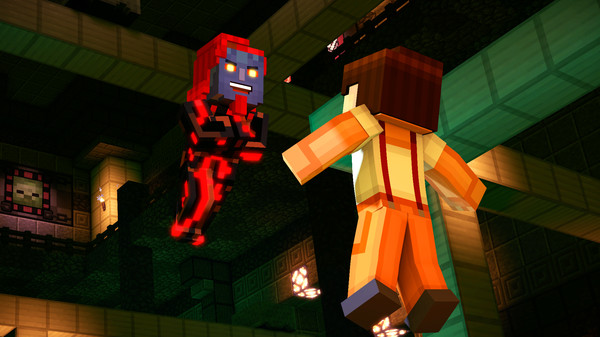 Villano Minecraft story mode 2
