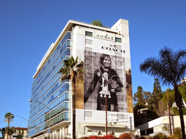 Giant Coach FW 2014 billboard Sunset Strip