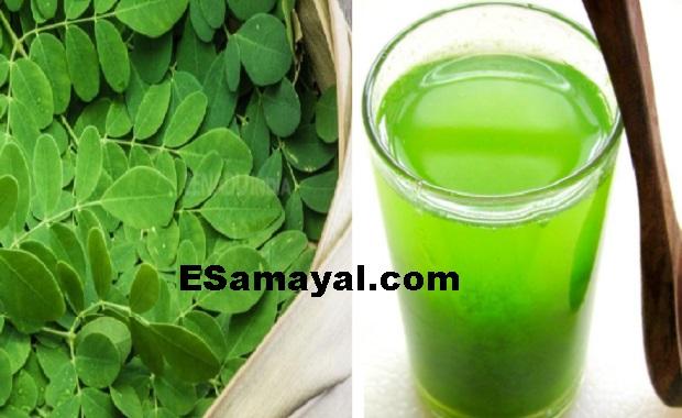 முருங்கைக்கீரை தண்ணிச்சாறு செய்முறை / Muringa Greens Soup Recipe !