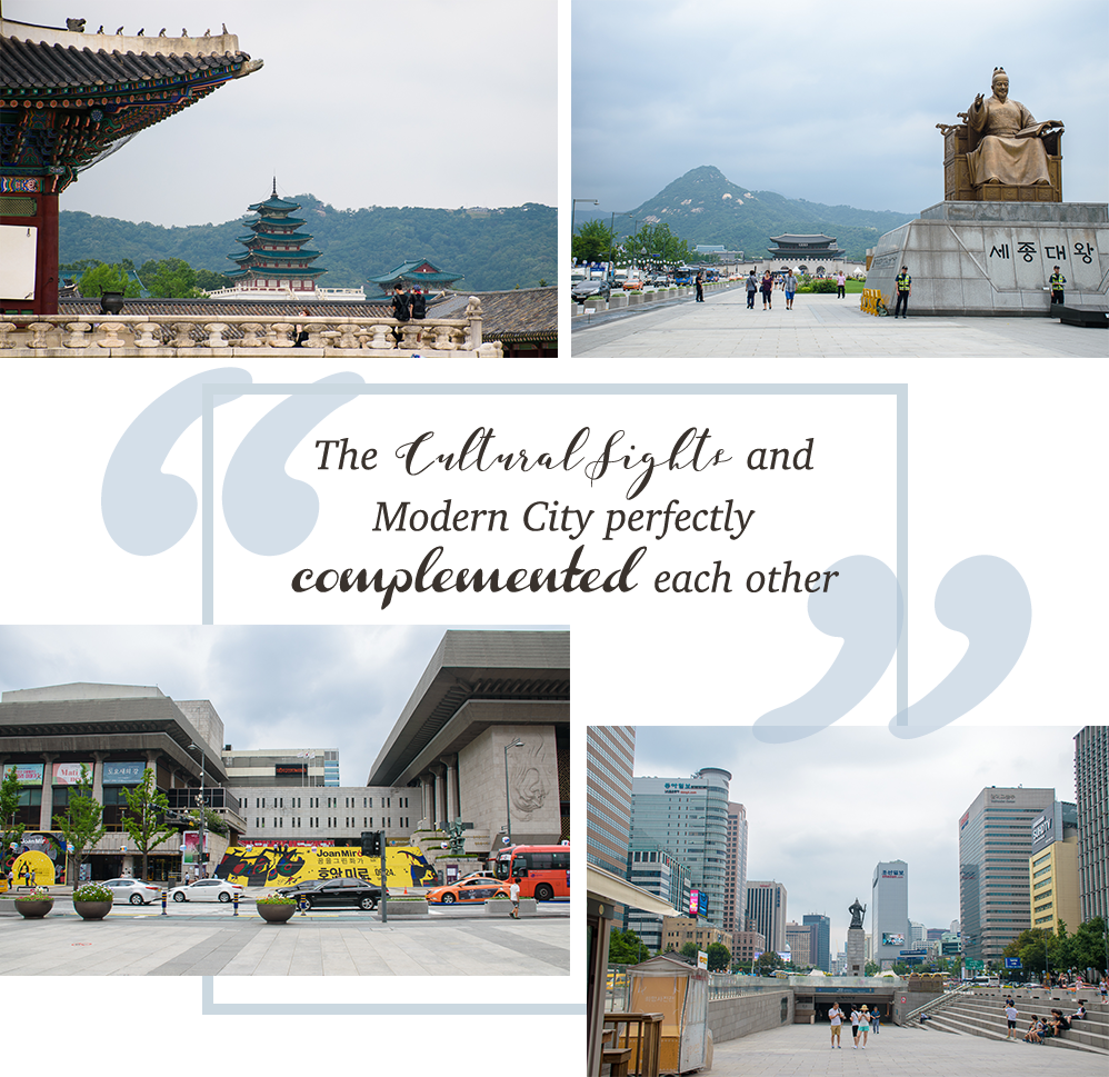 gyeongbokgung palace in seoul the cultural sights and modern city perfectly complement each other