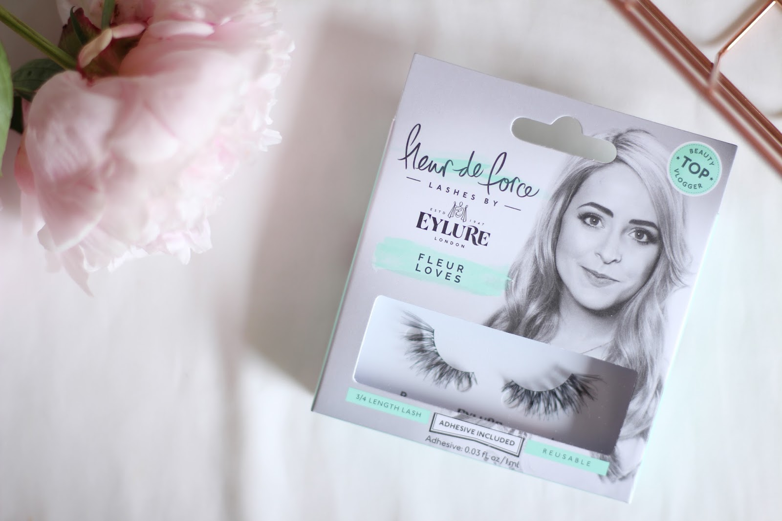 b0086282bb9 When I first tried the Fleur de Force lashes (way back – here's my first  review) the Fleur Loves lashes were by far my favourites.