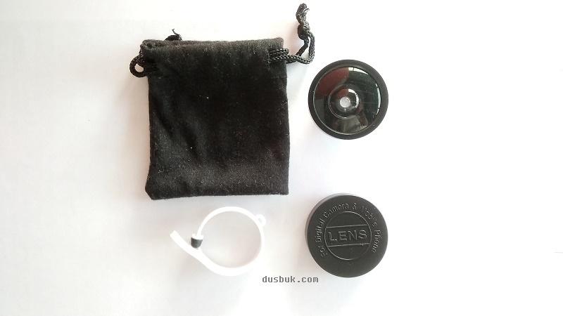 Aksesoris: Lensa Wide Tambahan murah untuk kamera Smartphone