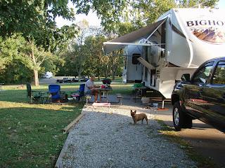 bone lick campgrounds Big