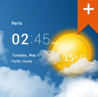 Transparent Clock & Weather PRO v0.99.11.11 Build 368 APK