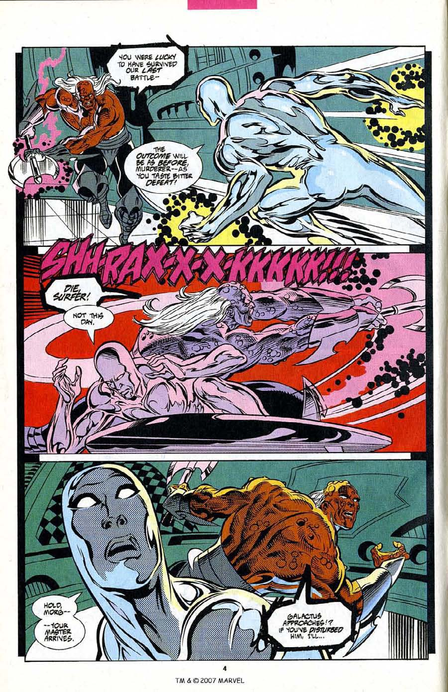 Read online Silver Surfer (1987) comic -  Issue #102 - 6