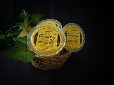 Carica embun pagi, merek produk olahan carica buah unik khas Dieng