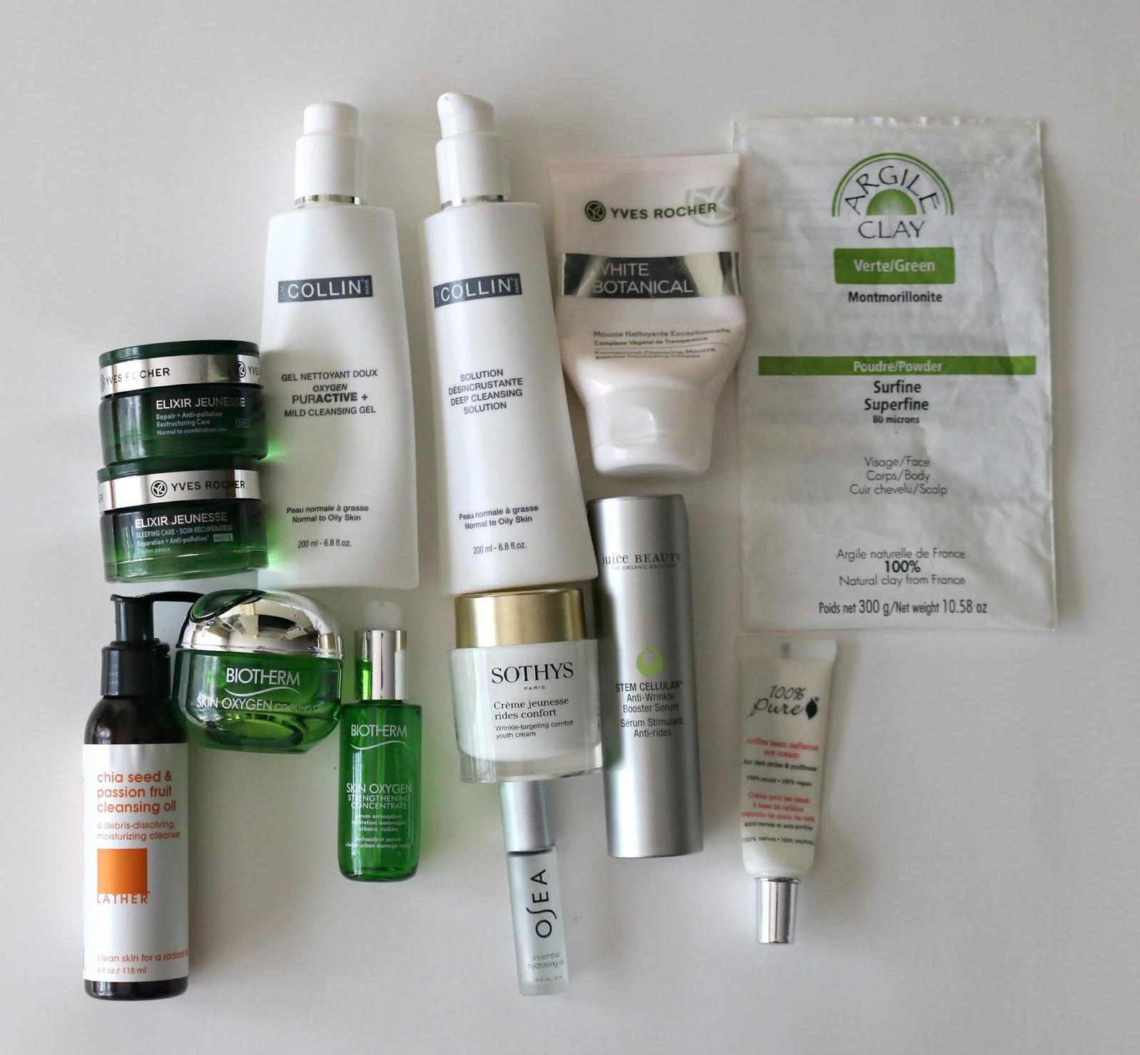 Epic Empties Skin Care Declutter Summer 2018
