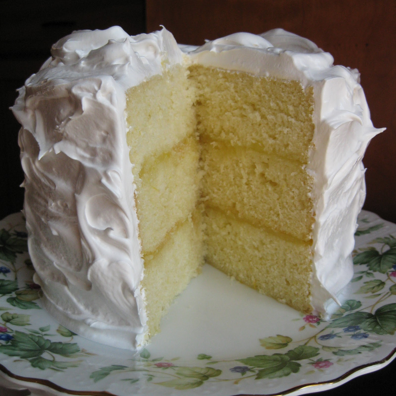 Lemon Cake Without Butter Or Eggs