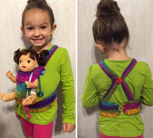 Crochet Baby Carrier - Free Pattern