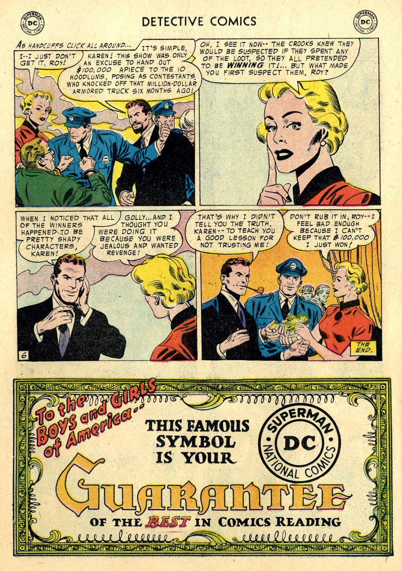 Read online Detective Comics (1937) comic -  Issue #239 - 22