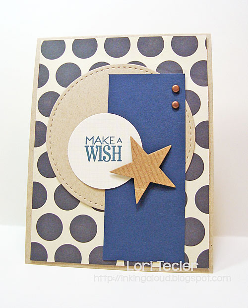 Make a Wish card-designed by Lori Tecler/Inking Aloud-stamps from Verve Stamps