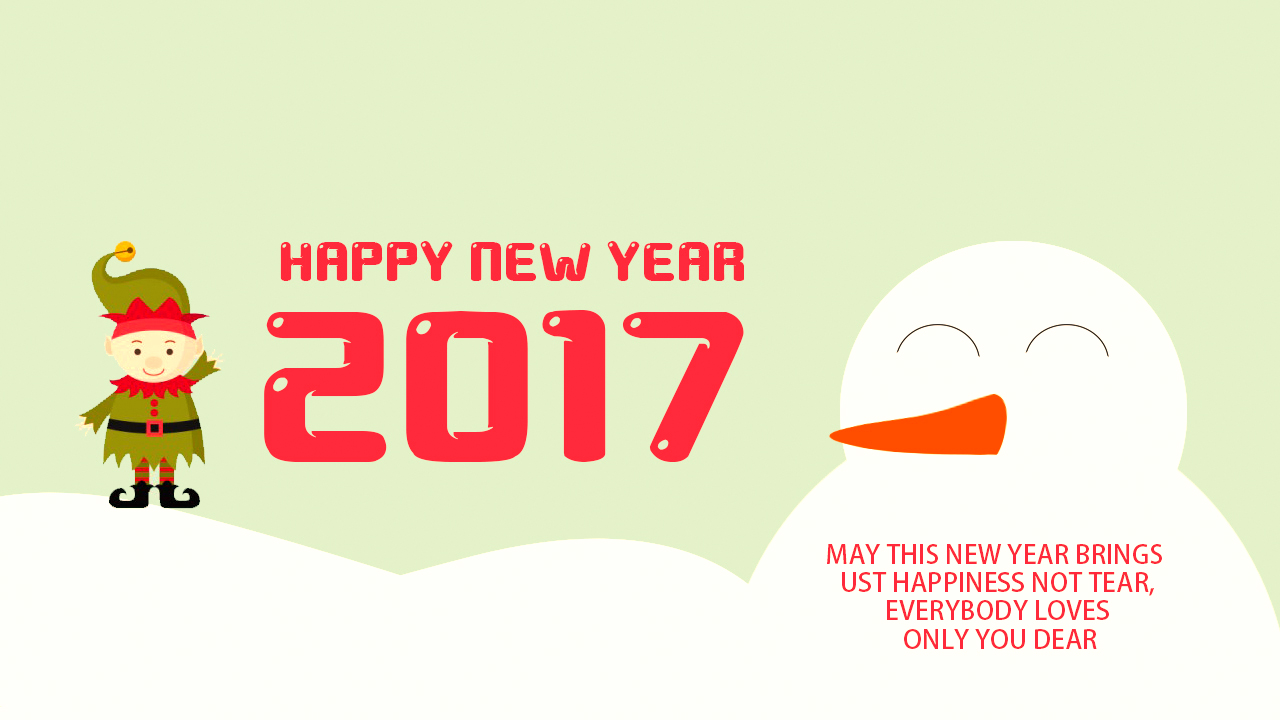 new year 2017 messages for parents