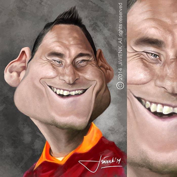 Francesco Totti por Jiwenk
