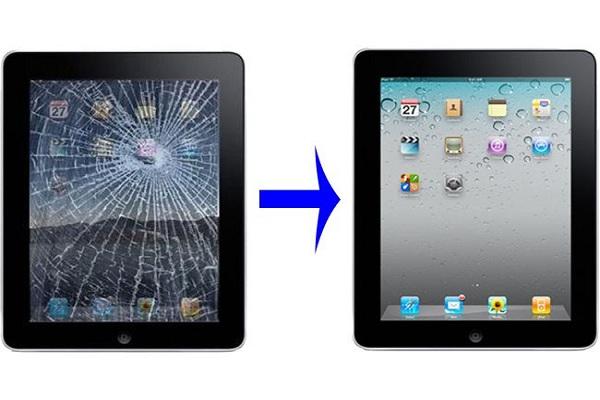 Thay mặt kính iPad air giá rẻ