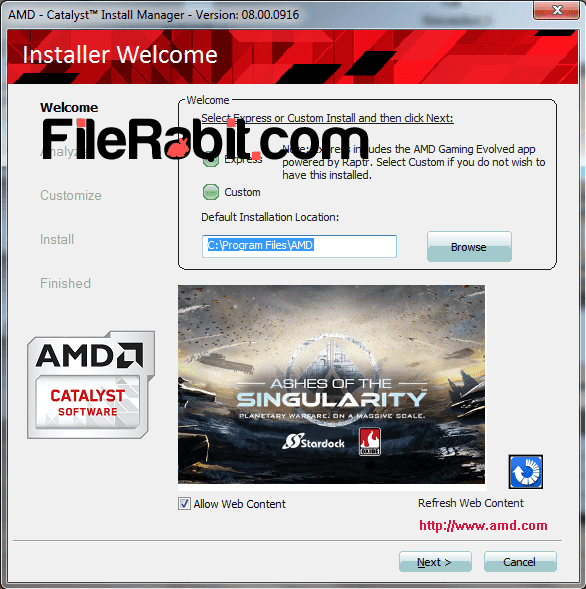 AMD Catalyst Drivers Screenshot 2
