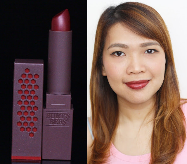 a photo of Burt's Bees 100% Natural Lipstick in russet river