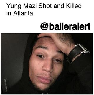Yung Mazi Shot In Head 2017
