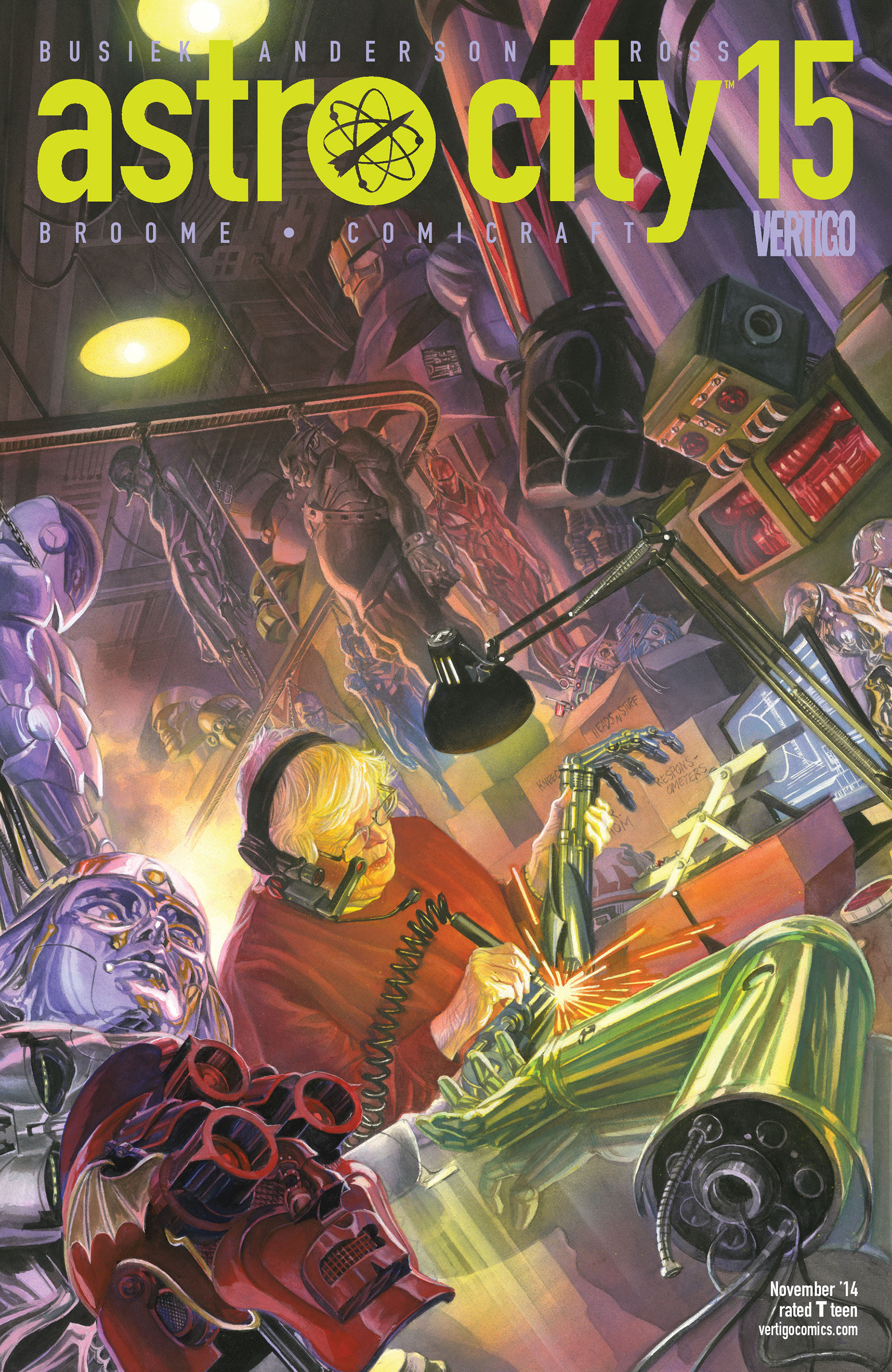 Read online Astro City comic -  Issue #15 - 1
