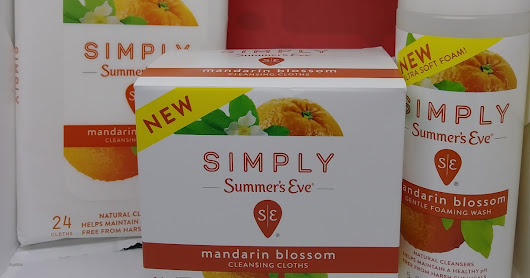 Crowdtap Mission: Simply Summer's Eve Cleansing Cloths and Foaming Wash