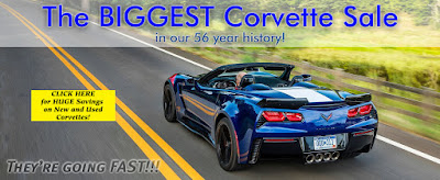 Purifoy Chevrolet's Biggest Corvette Sale Ever