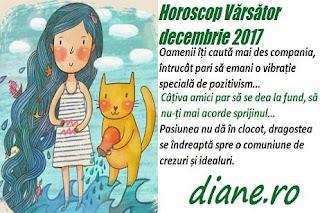 Horoscop decembrie 2017 Vărsător