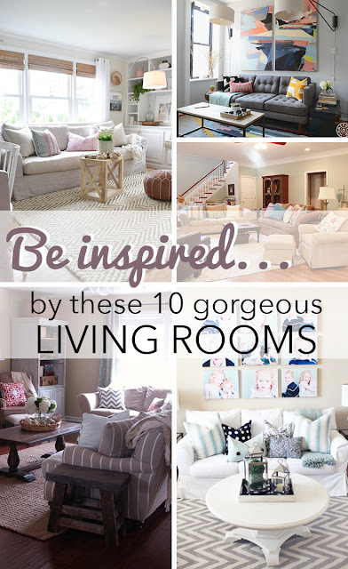 Cupcakes And Cashmere Living Room