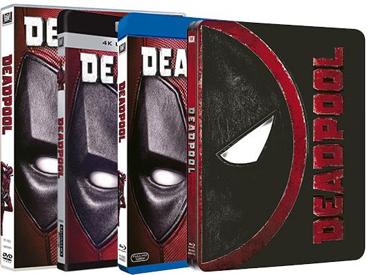 A la venta 'Deadpool' en DVD, Blu-ray, UHD, Edición Steelbook y Edición coleccionista