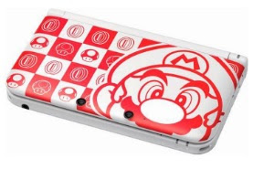 Nintendo 3DS XL Mario White Edition