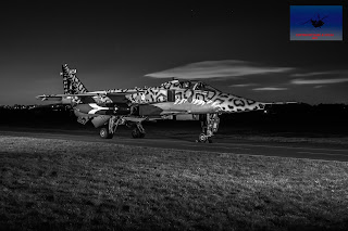 RAF SEPECAT Jaguar XX119 bomber ground attack Cosford