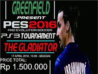 Kompetisi PES 2016di Bandung April 2016