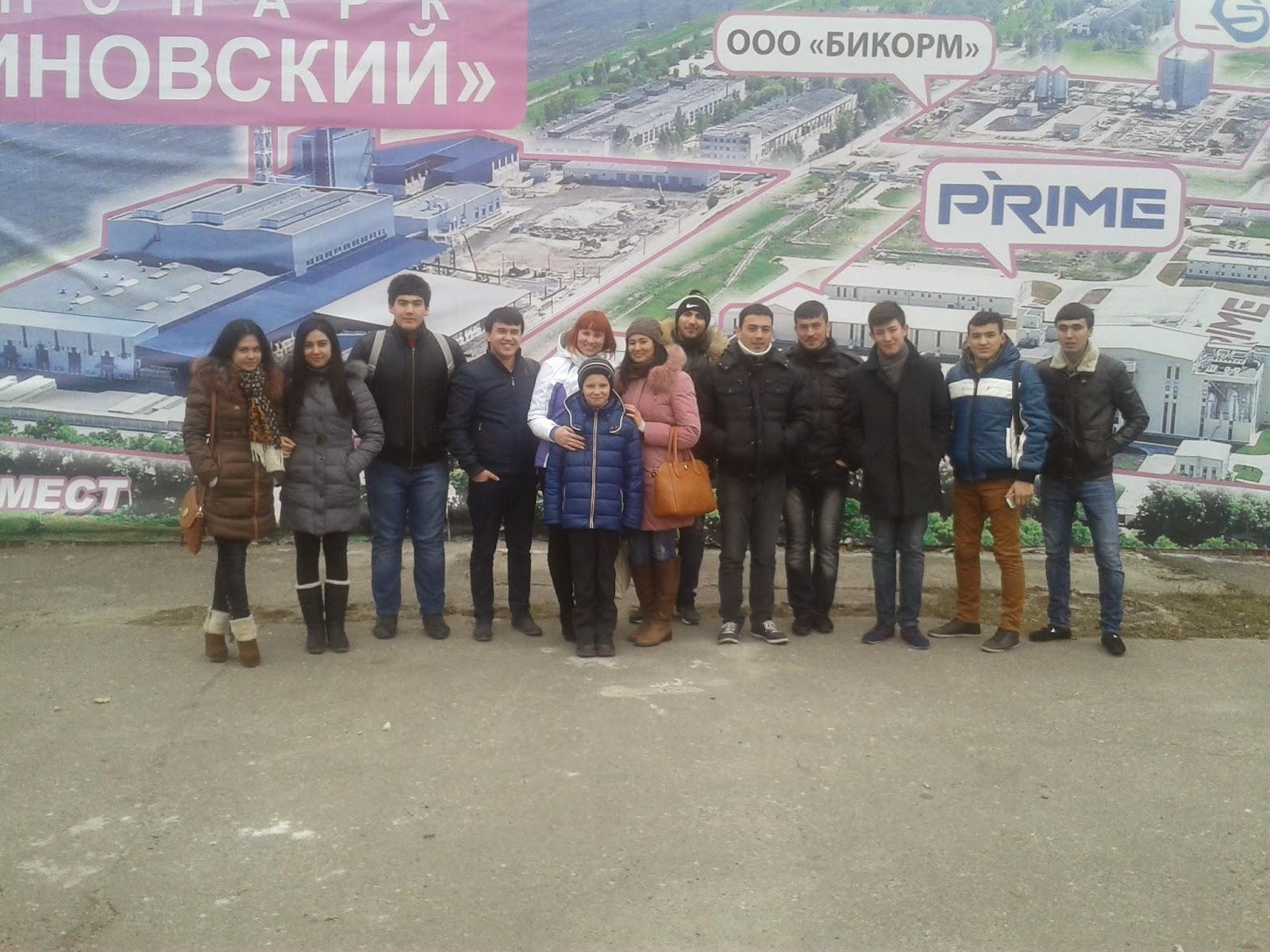 Иностранные студенты ХНЭУ им. С. Кузнеца посетили с экскурсией Малиновский стеклозавод