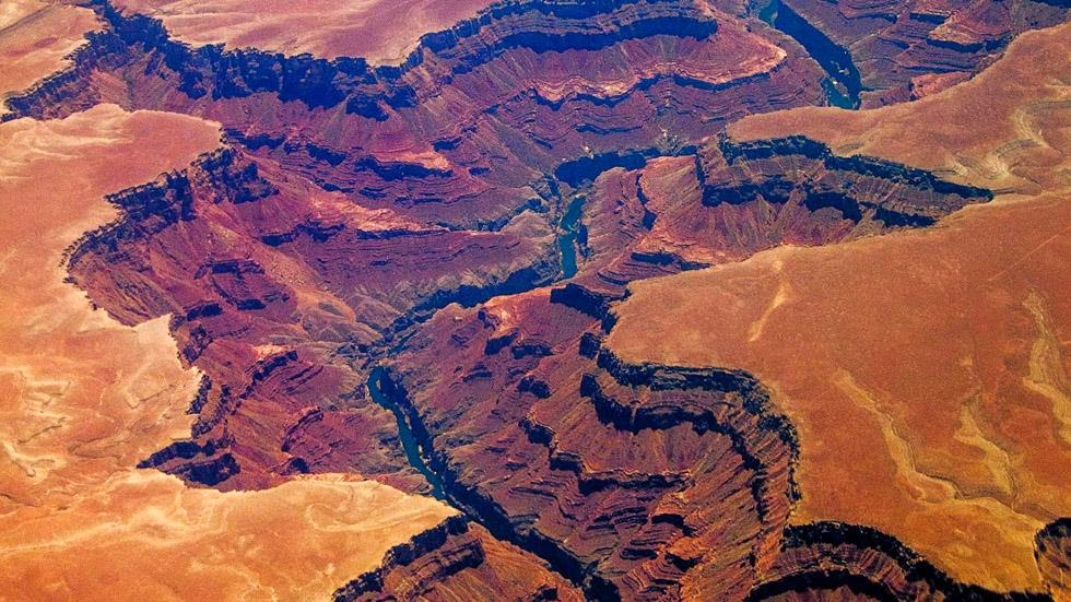 19. Grand Canyon, Arizona - 50 Stunning Aerials That Will Make You See the World in New Ways (PHOTOS)