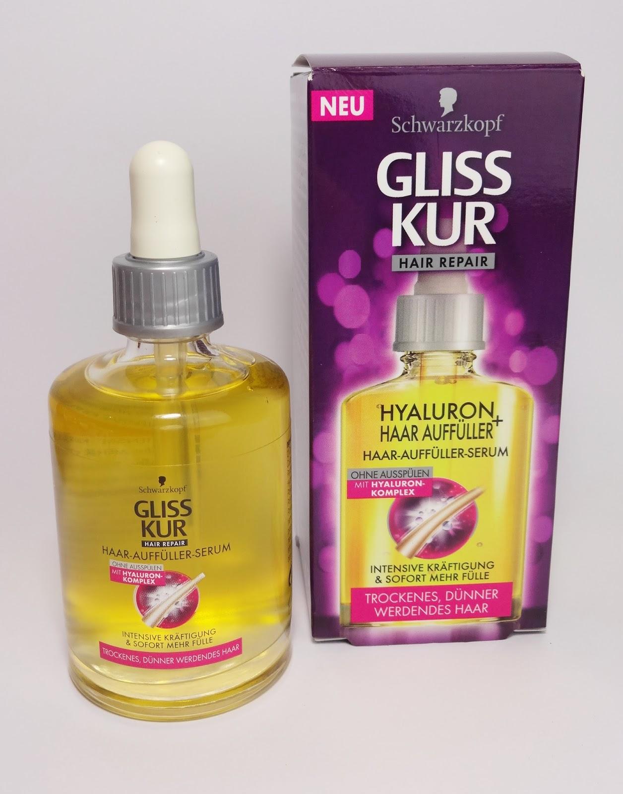 Gliss Kur - Hyaluron Haar Auffüller Serum