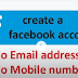 Create Facebook id Without Phone Number