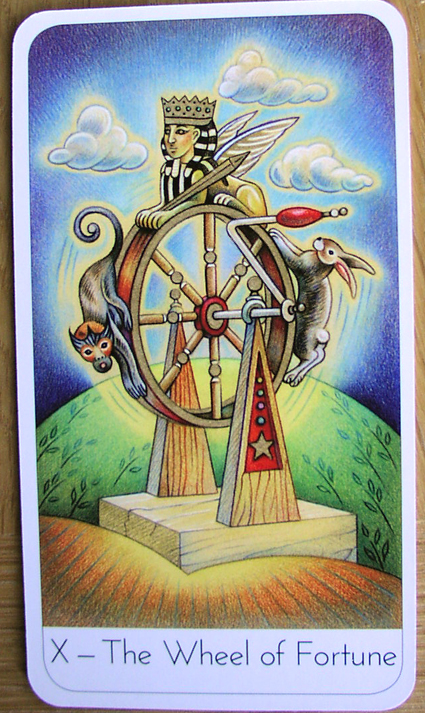 the wheel of fortune tarot relationship