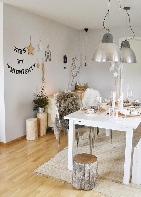 Decoraci n de mesa de navidad en grises decorar tu casa for Foro de decoracion facilisimo
