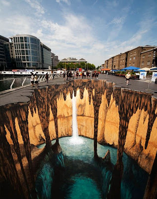 Lukisan 3 Dimensi Jalanan