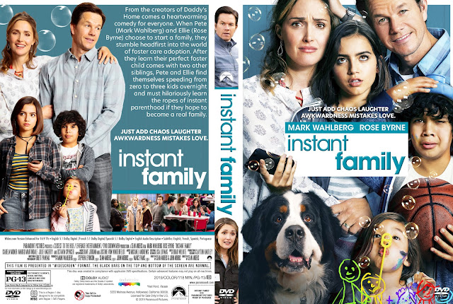 Instant Family DVD Cover