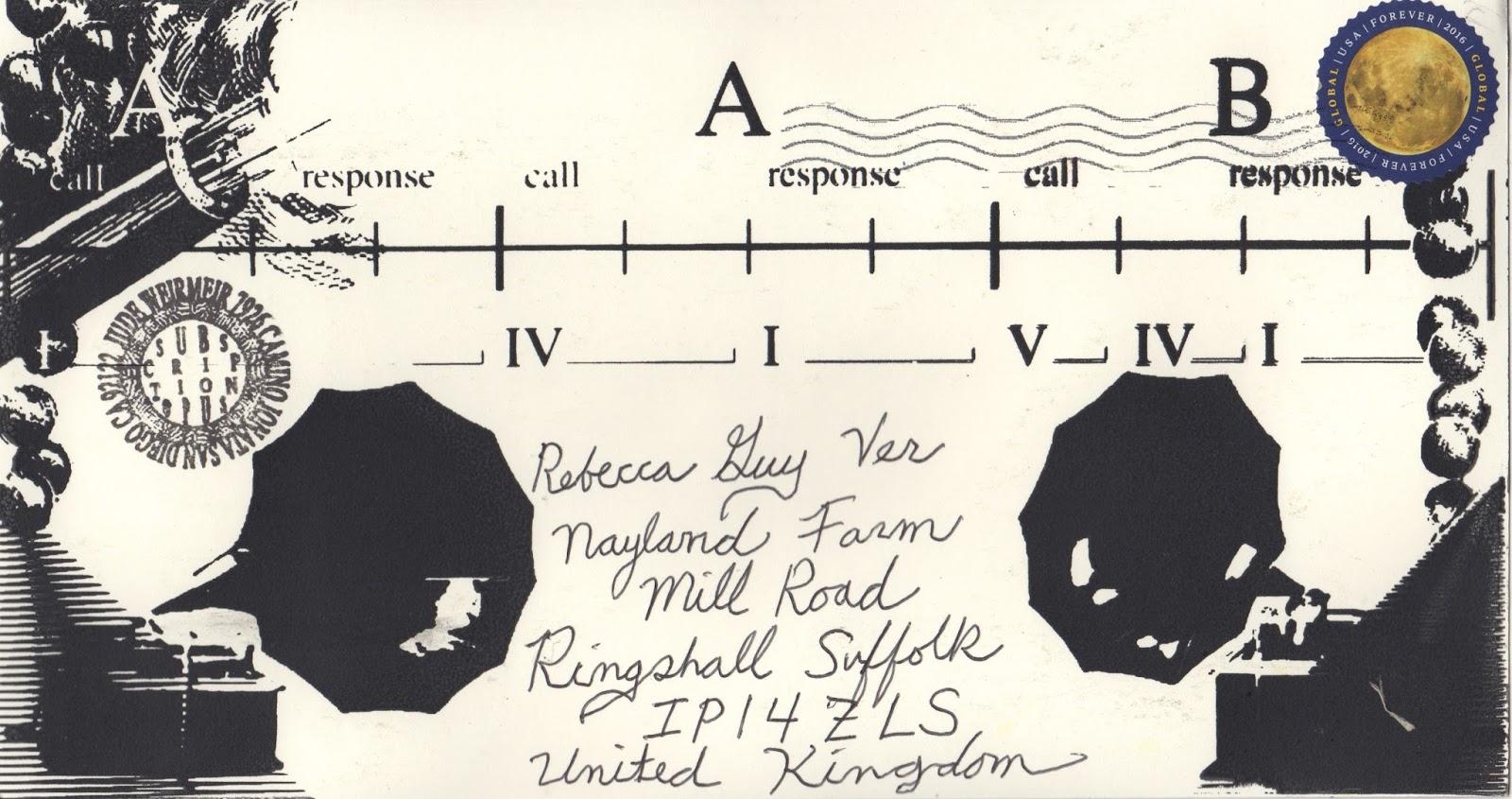 The Postal Ledger: Meet me at Dan Lynch or La Jolla