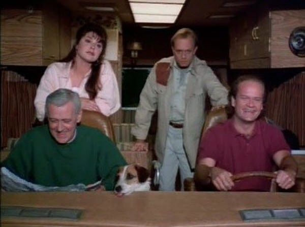 Frasier - Season 1 Episode 21: Travels with Martin