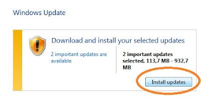 Cara Menghapus File Update Windows  7 Yang Bikin Sampah dan Lambat Komputer
