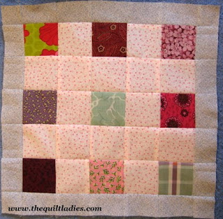 How to make a quilt pattern block Tutorial, Week 32